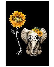 Download Happiness is being a Nana - Sunflower Elephant Classic T ...
