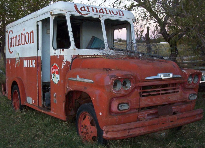 vintage trucks with signs - Google Search | Faded vehicle signage ...