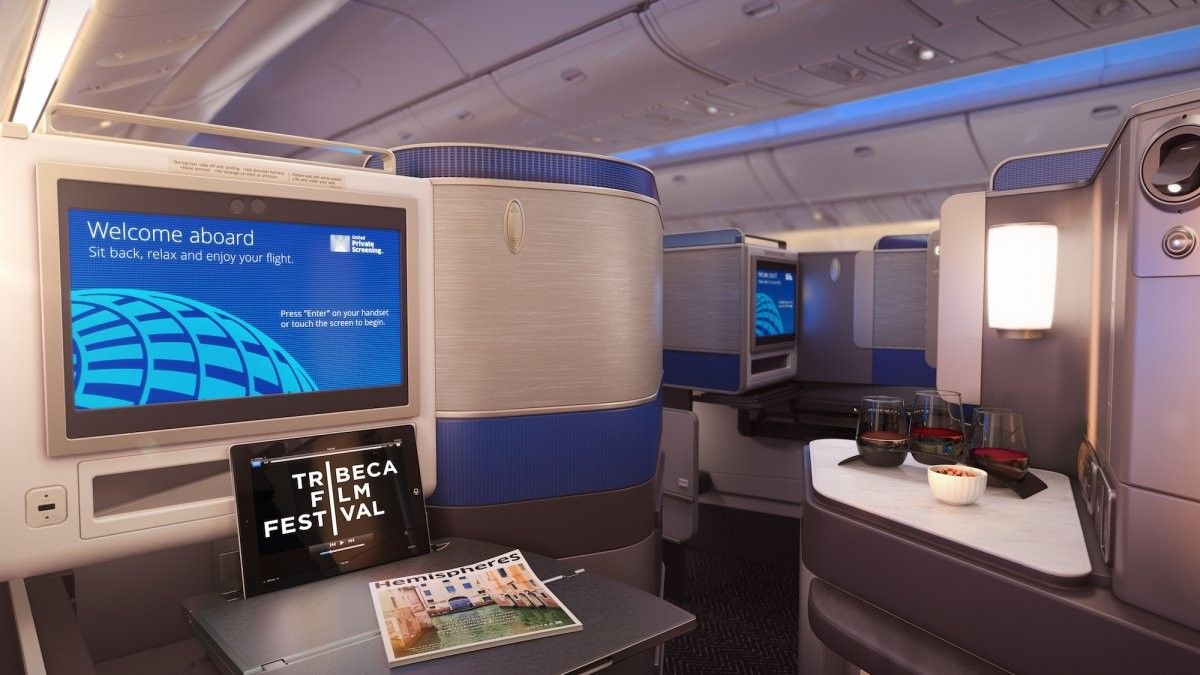 United Airlines new business class features sleeping pods instead ...