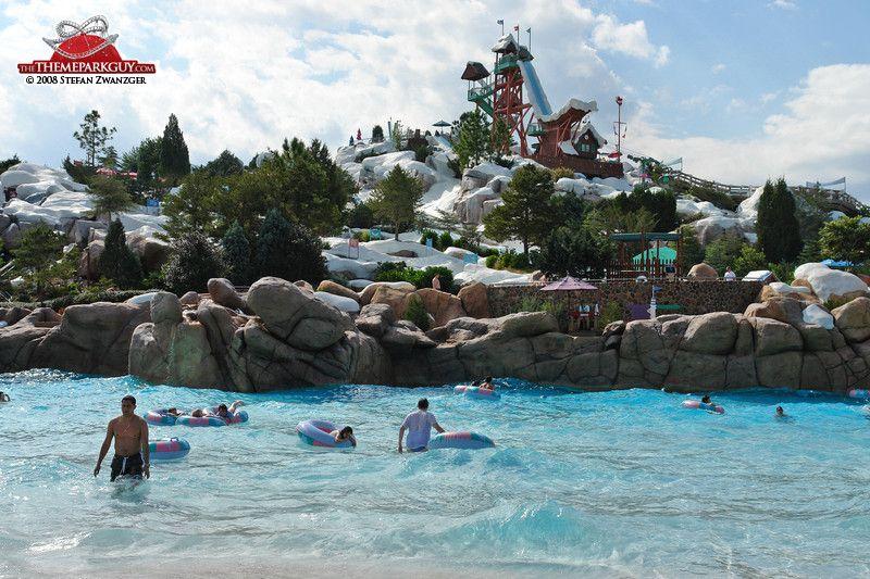 Disney S Blizzard Beach Water Park Blizzard Beach Pinterest