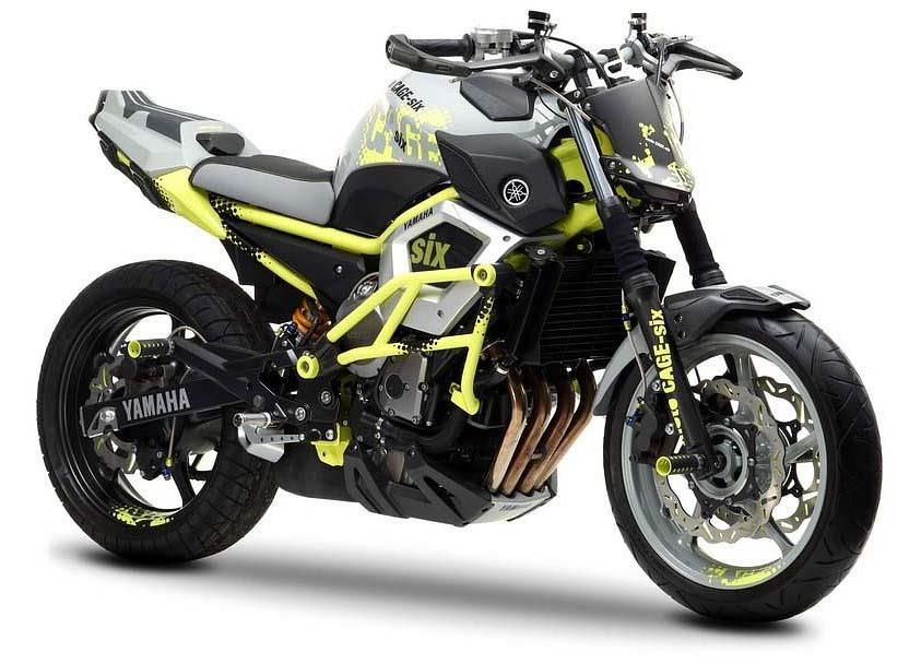 Yamaha Stunt Concept Bike Yamaha Has Just Revealed A Stunt Bike
