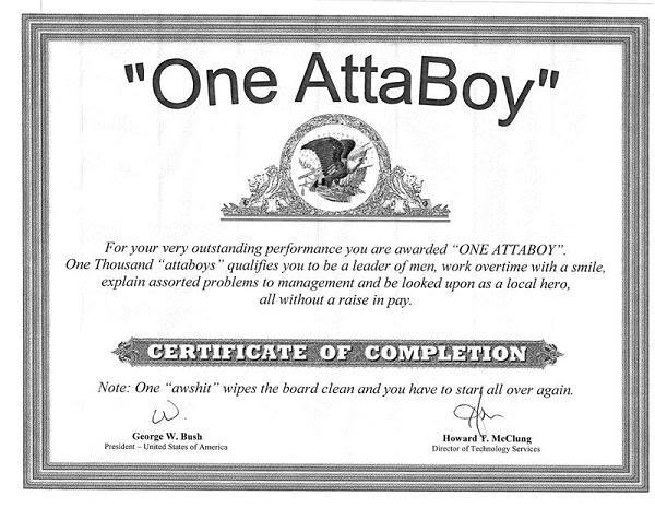 AttaBoy! | A Jokes | Funny signs, Jokes, Funny