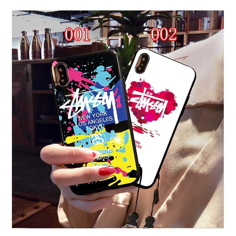 184c87414a ブランド IPhoneXs/Xs Max/Xr ケース Stussy 背面ケース ステューシー IPhone X/8