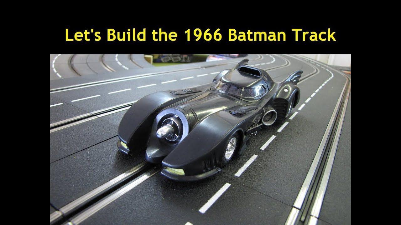How to build a 1 32 scale Carrera 4 Lane Digital 1966 Batman