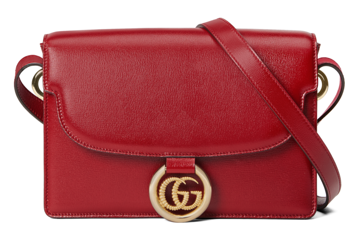 Photo of Gucci Small leather shoulder bag