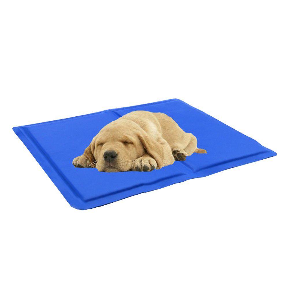 Qbleev Pet Cooling Mat Gel Pad Ice Sleeping Comfort Non Toxic Cold