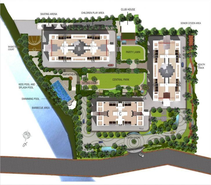 Apartment Complex Layout