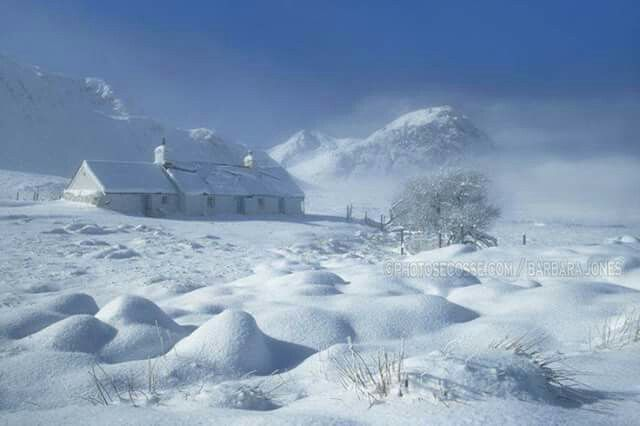 Winter in Scotland