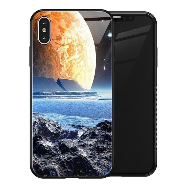 Luxury Space Galaxy Cover Case for iPhone X XS MAX XR XS