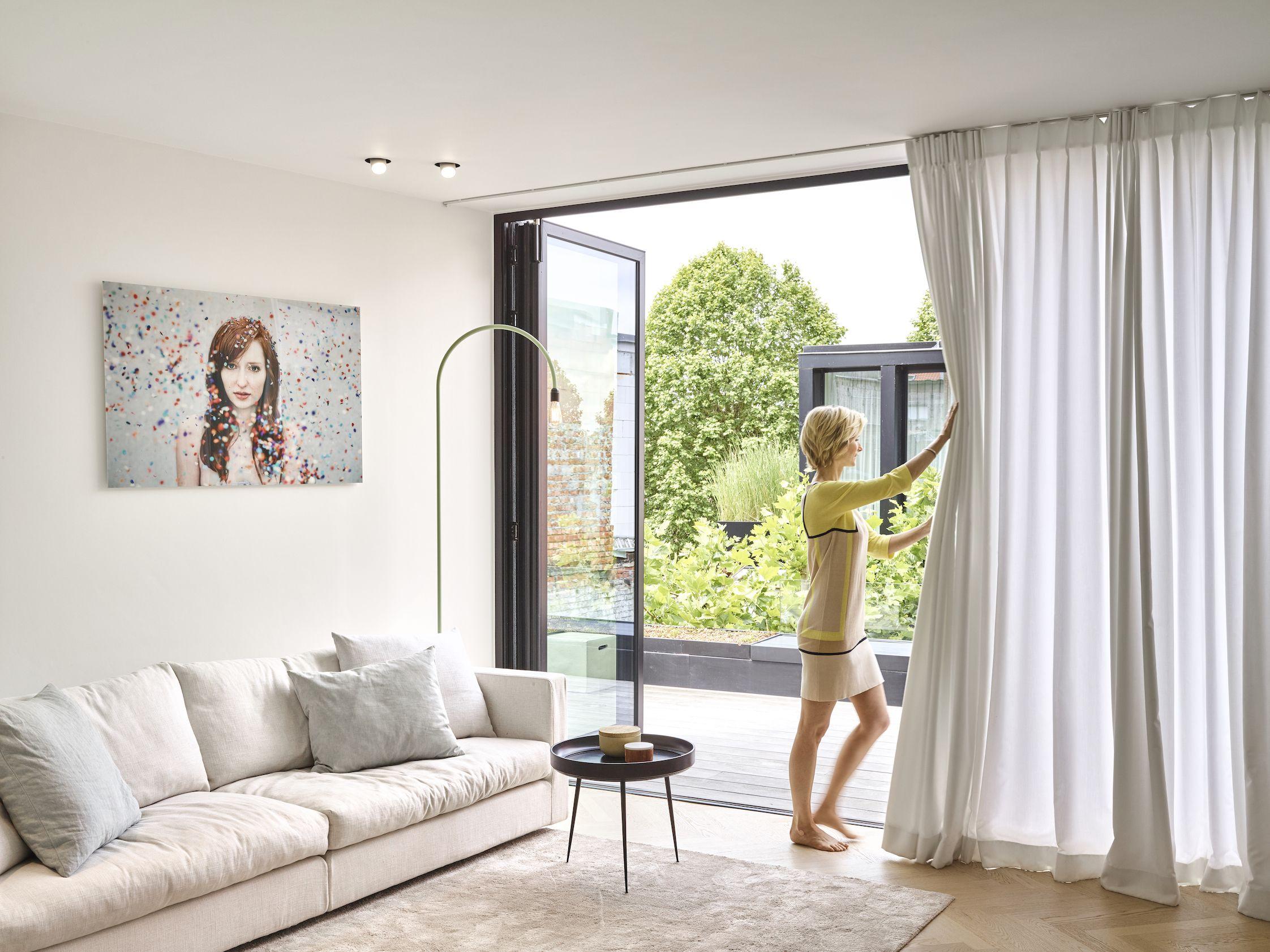 Tibeflex raamdecoratie gordijnen referentie kortpoort winsol