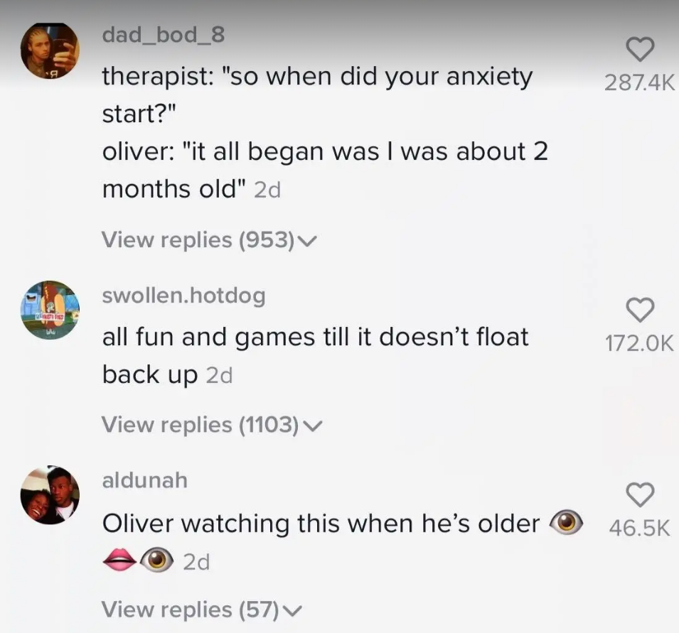 The Real Story Behind The Viral Tiktok Video Showing A Baby Being Tossed In A Pool Real Stories Viral Student Orientation