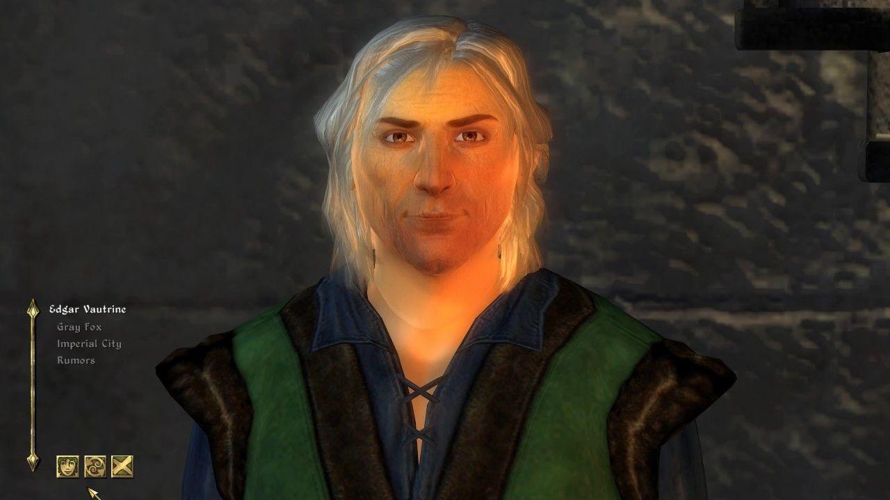 Edgar Vautrine - Oblivion Character Overhaul | Blactivision