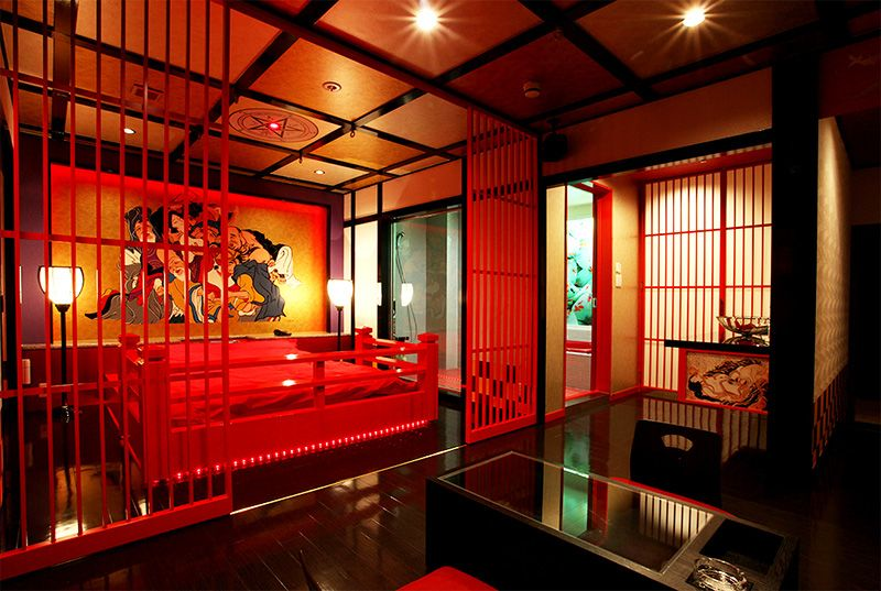 Love Hotels In An Provide A Private E For S Themed Are Becoming