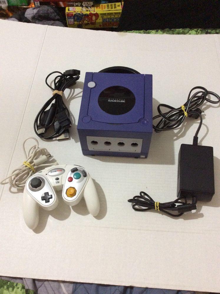 Nintendo Gamecube Console Indigo Purple Console Nintendo
