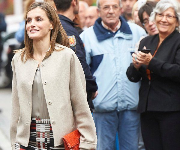 Queen Letizia attend meeting at the Spain Mental Health Confederation