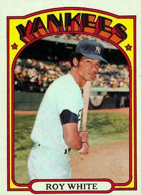Card Corner: 1972 Topps: Roy White Bronx Banter