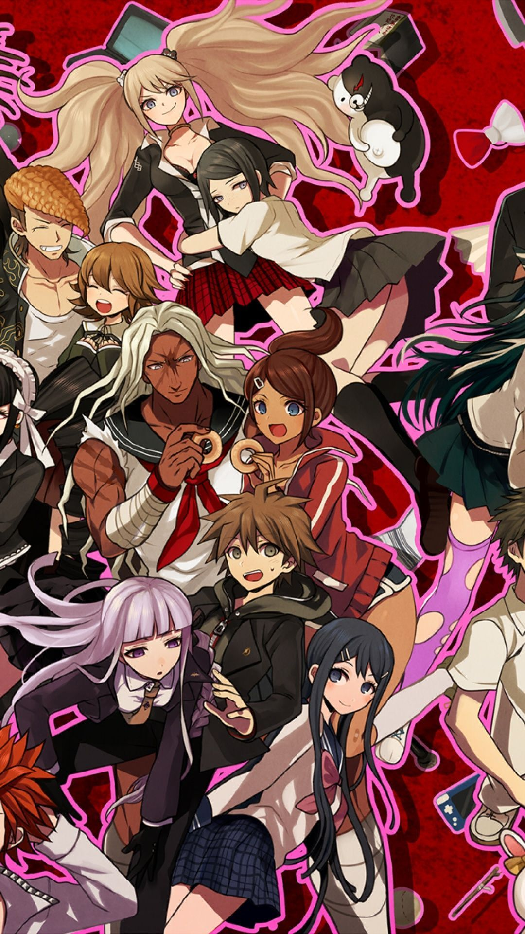 Danganronpa Wallpaper For Mobile Phone Tablet Desktop Computer And Other Devices Hd And 4k Wallpapers In 2021 Iphone Wallpaper Danganronpa Wallpaper Danganronpa anime iphone wallpaper