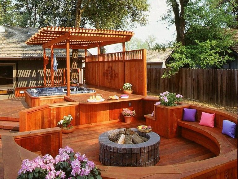 55+ Good Backyard Hot Tubs Decoration Ideas - Page 58 of 61 ...