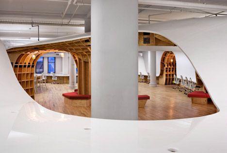 the office super desk. Clive-Wilkinson-Architects-Super-Desk-at-Barbarian-Offices_dezeen_468_16. The Office Super Desk