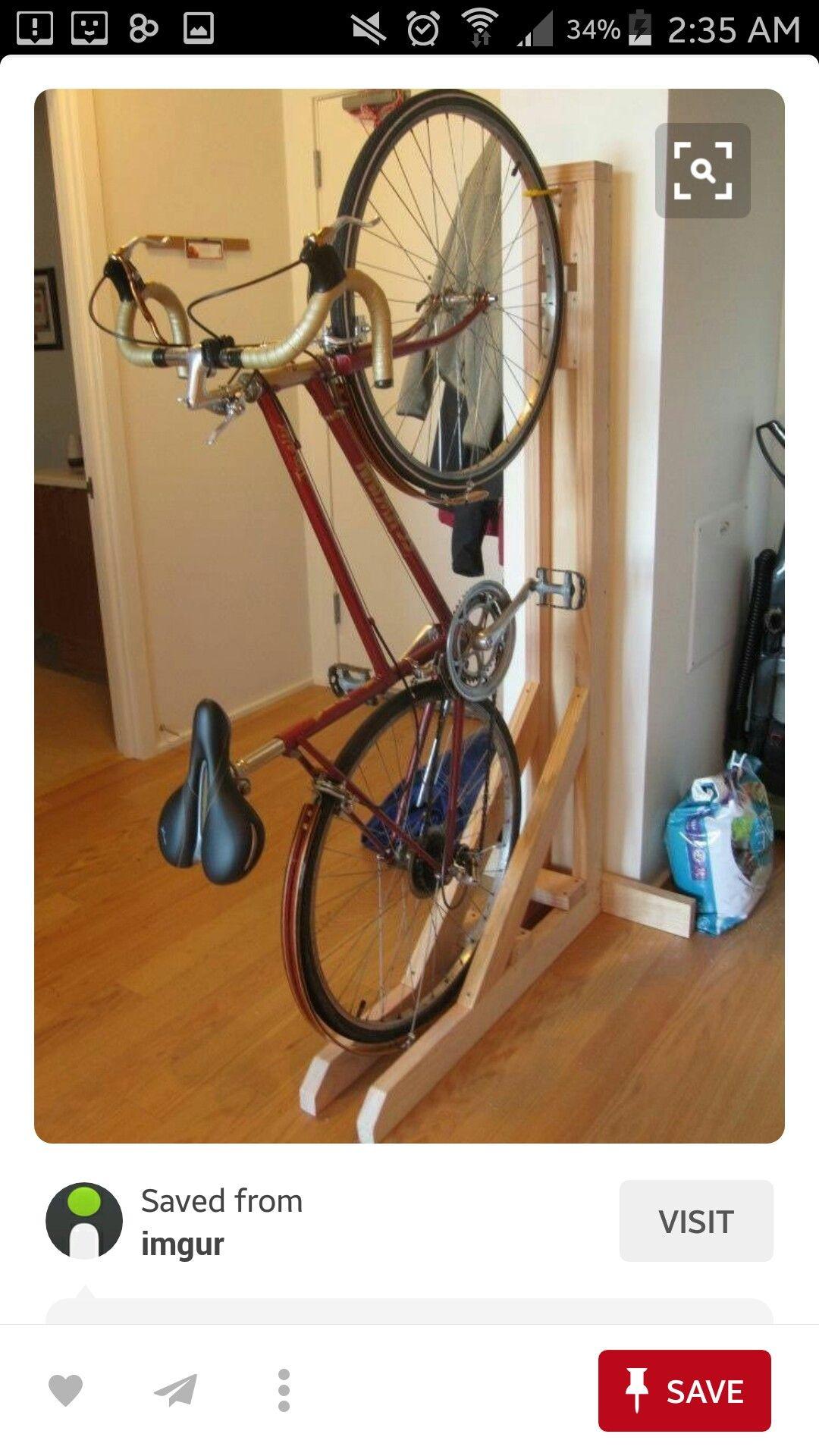 Pin By Ed Gunzon On Bong Bike Bike Storage Apartment Bike