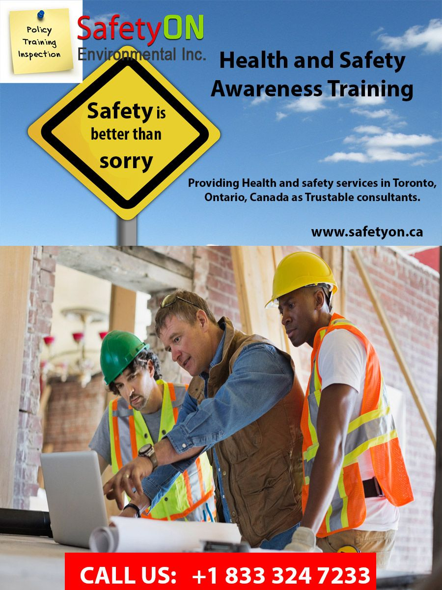 Health and Safety Awareness Training consultant (With
