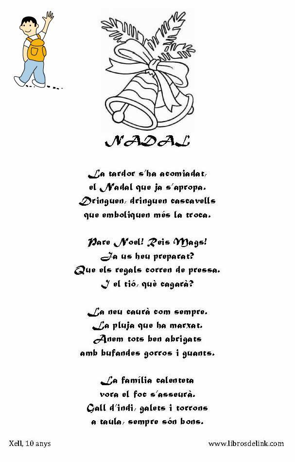 Poema navidad para ni os en catal n navidad con ni os - Casa del libro valencia horario ...
