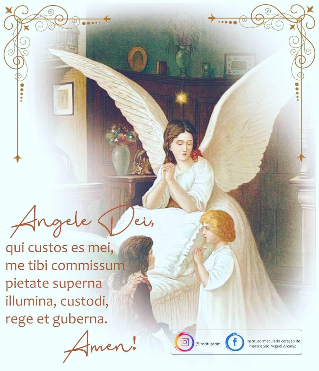 2 De Outubro Dia Do Anjo Da Guarda Santo Anjo Da Guarda Meu