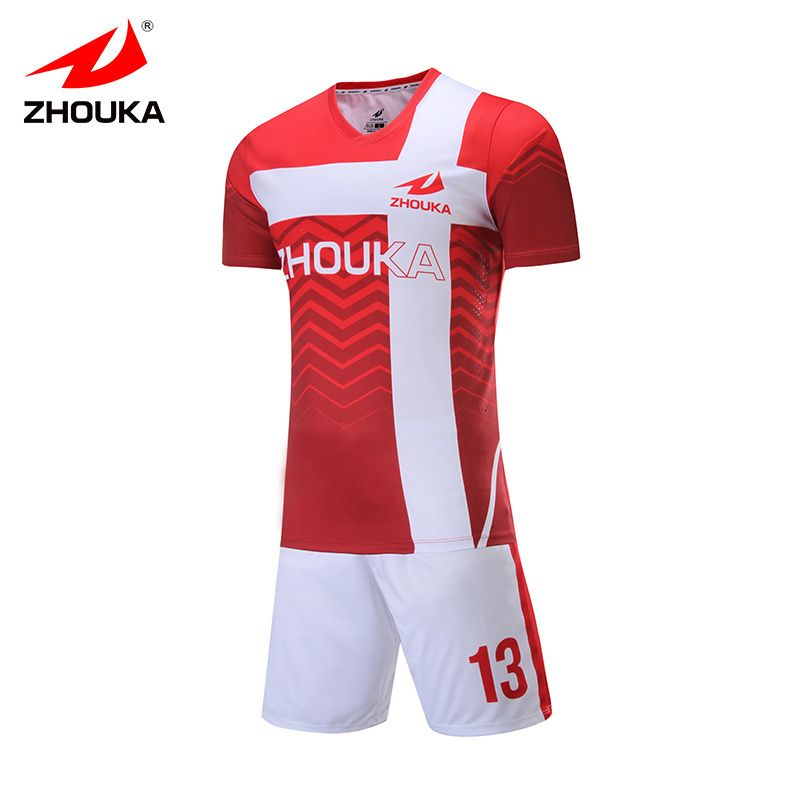 7ee744b25 custom soccer jersey set sublimation print personalize pattern jersey de  football any color voetbal shirts camisa futebol  Affiliate