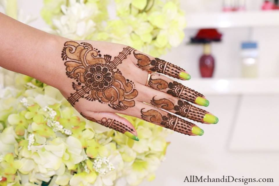 Mehndi Designs Patterns Ideas : Simple and easy eid mehndi designs arabic henna mehendi pattern
