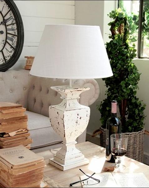 Lampade shabby chic idee originali per la tua casa (FOTO
