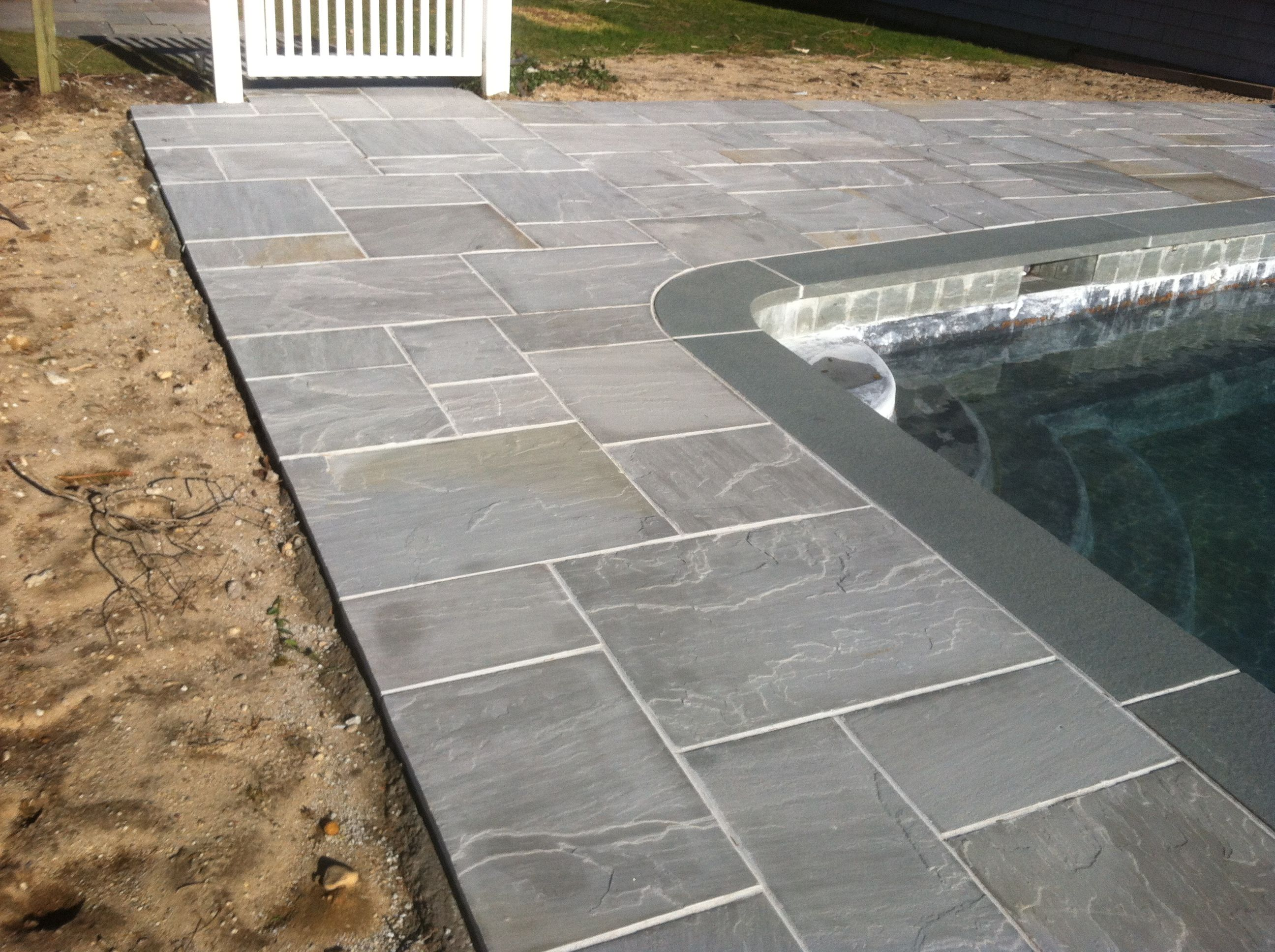 U201cBlue Iceu201d Bluestone Patio Replacement In Quogue, NY