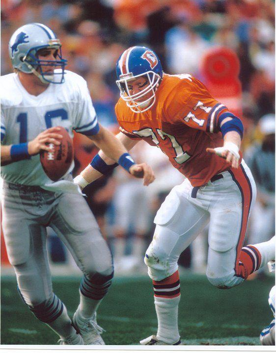 Denver Broncos Helmet History : denver, broncos, helmet, history, Mecklenberg, Denver, Broncos, Football,