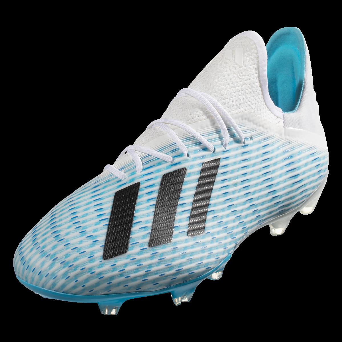 Adidas X 19 2 Fg Soccer Cleats Cyan Black Pink 13 Soccer Cleats Soccer Cleats Adidas Cleats