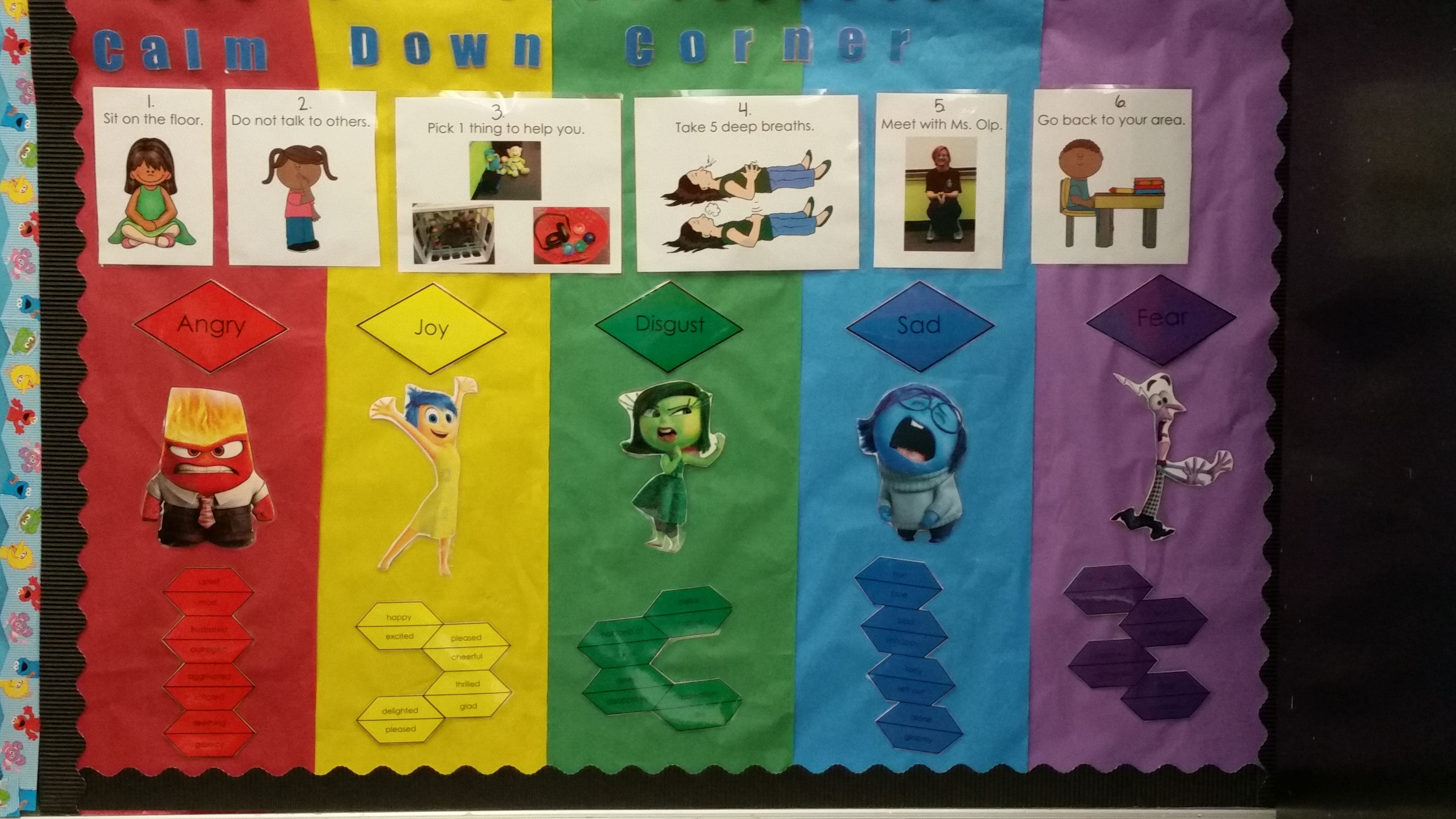 Calm Down Corner Board With Images