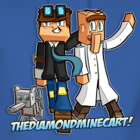 Mens the gang hoodie thediamondminecart us merch - Diamond minecart theme song ...