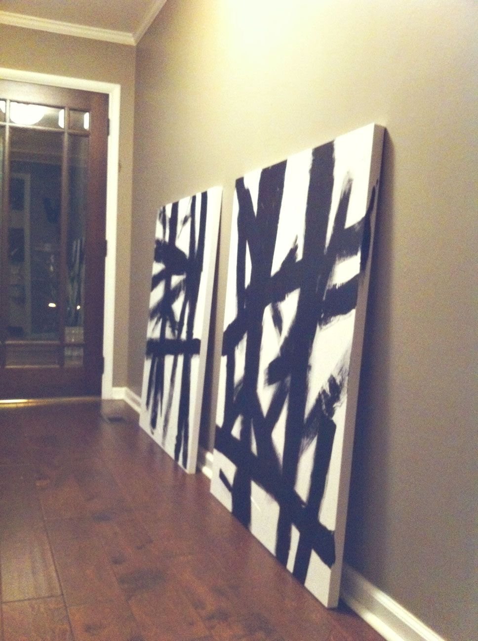 Paint your own modern canvases & Paint your own modern canvases | Ideas for Blank Walls | Pinterest ...