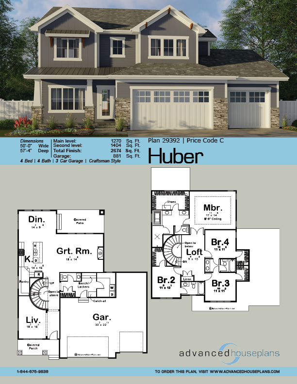 2 Story Craftsman Style Plan Huber House Layouts Craftsman Style Homes Craftsman Style House Plans