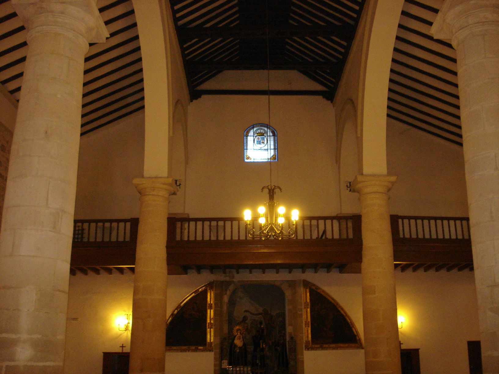 coro de la iglesia