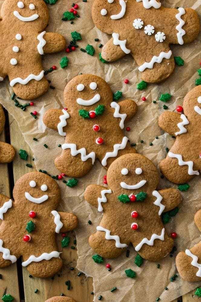 Gingerbread Men Cookies -   21 gingerbread cookies decorated christmas ideas
