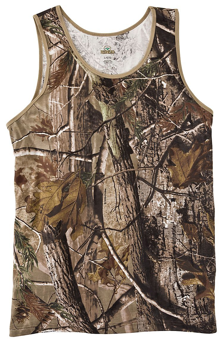 32135c80b17b3 RedHead® Camo Tank Top for Men