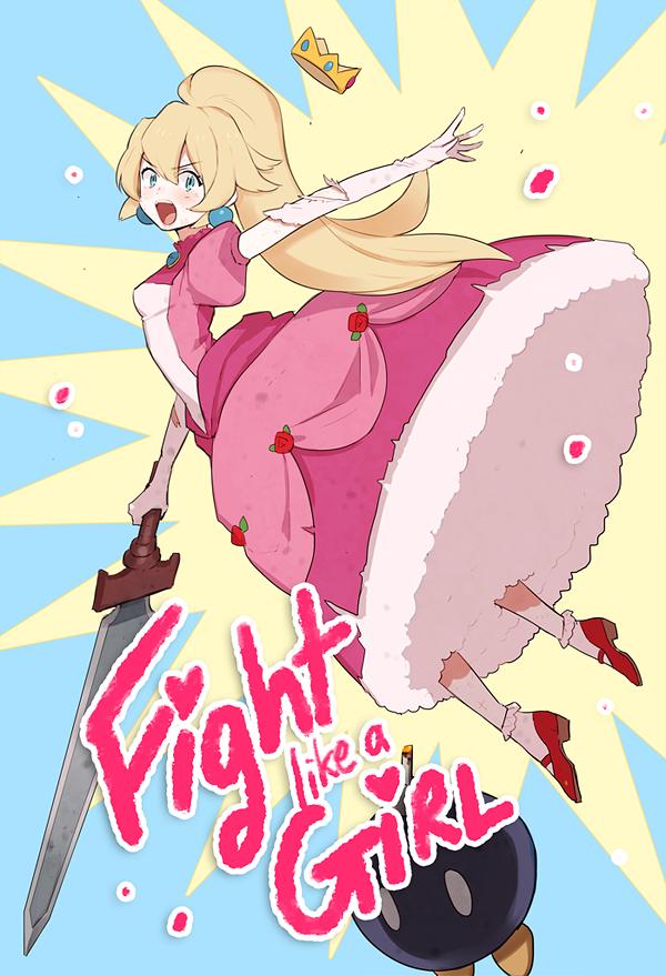 Princess Peach- Fight like a Girl!