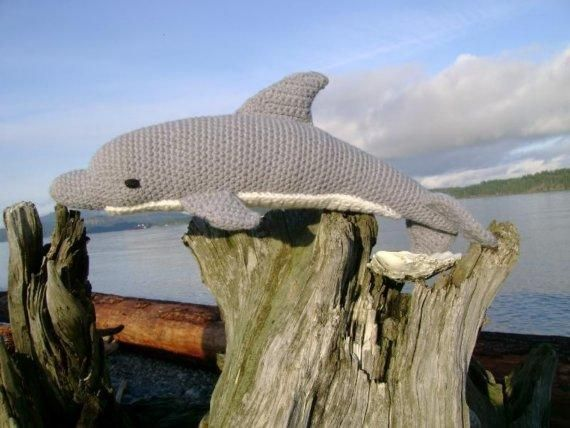 Dolphin Pdf Crochet Pattern Crochet Animals Toys Pinterest