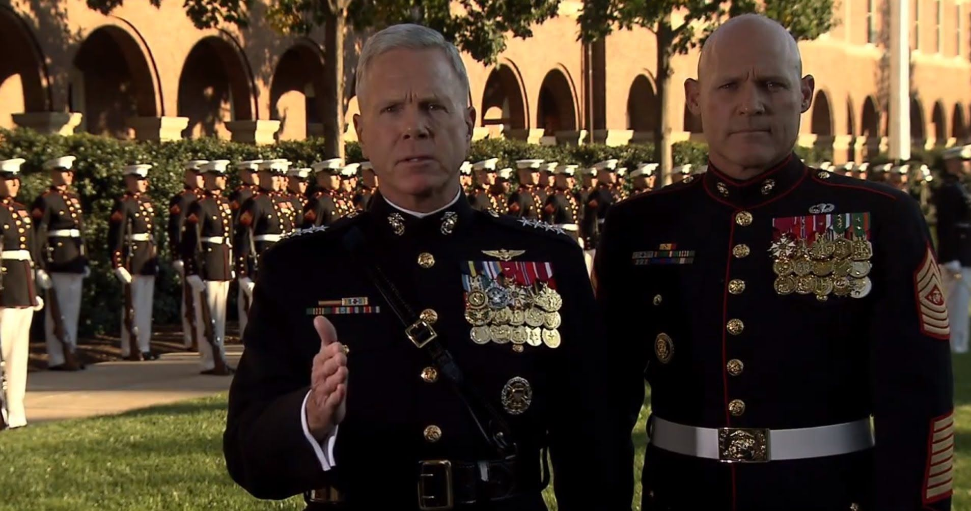"""2012 Marine Corps Birthday Message """"For Honor, For"""