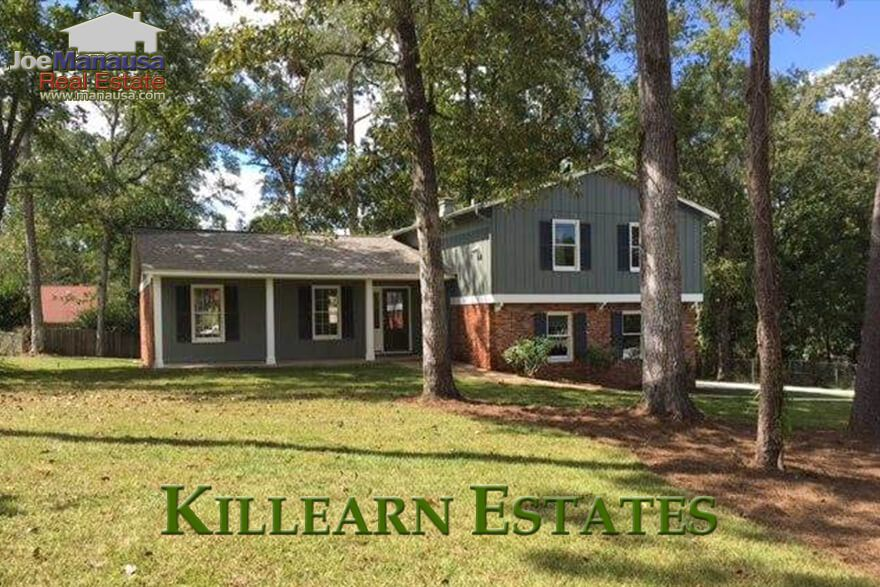 Killearn Estates Is A High Demand Neighborhood In Ne Tallahassee Located Just North Of The Interstate This 3 80 Real Estate Usa Real Estate Sales Real Estate