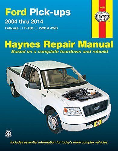 Ford Pick-ups 36061 (2004-2014) Repair Manual (Haynes Repair Manual)
