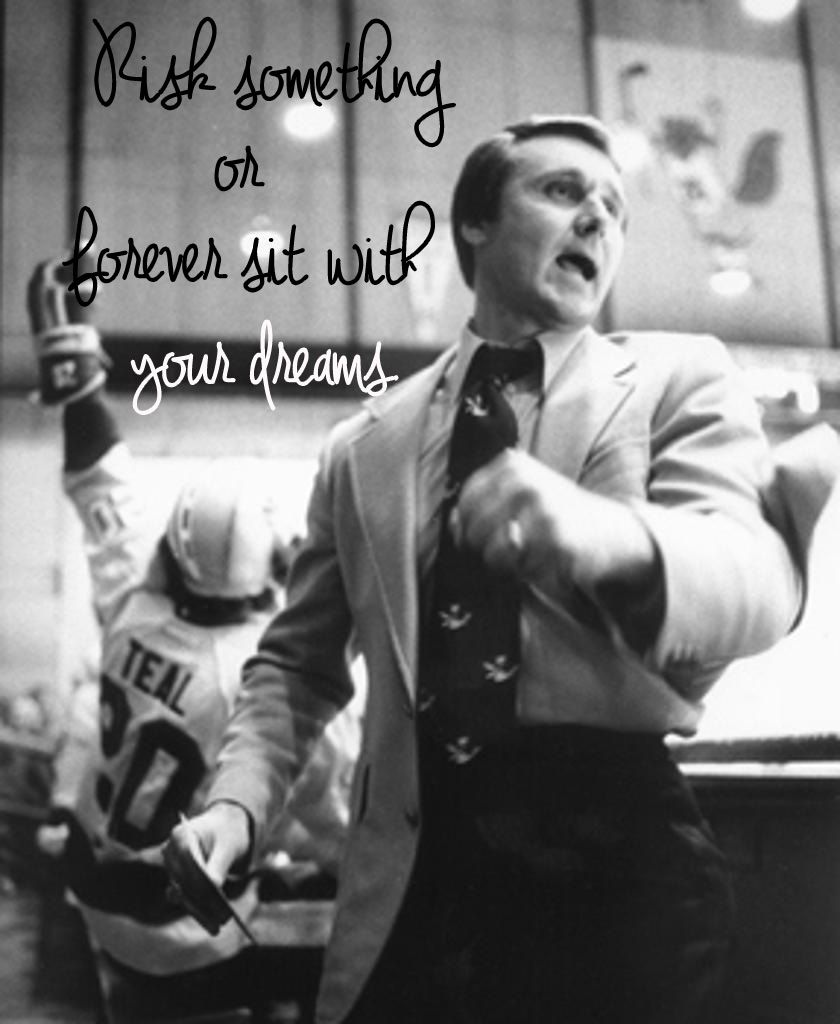 Famous Hockey Quotes Freedom Of Excess The Herb Brooks Guide To Life  Closet Storage