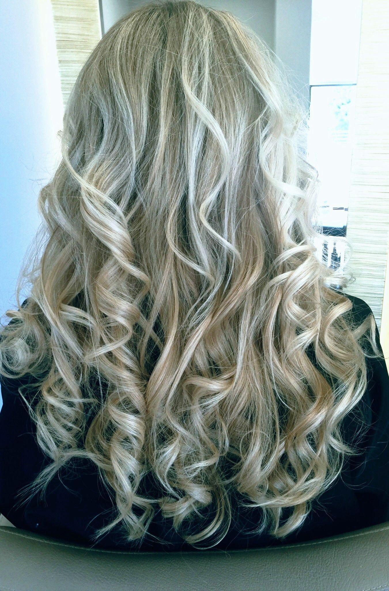 Curls Balayage Salon Coiffure Hairbrushing Montpellier Hair Inspiration Hair Styles Balayage