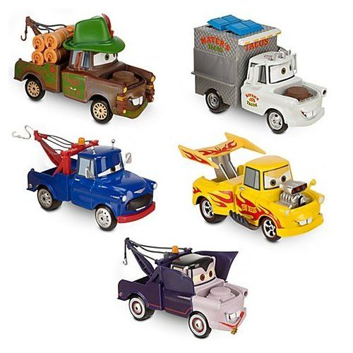 Disney Pixar Cars 2 Exclusive 1 43 Mater Rama Cars Die Cast 5 Cars