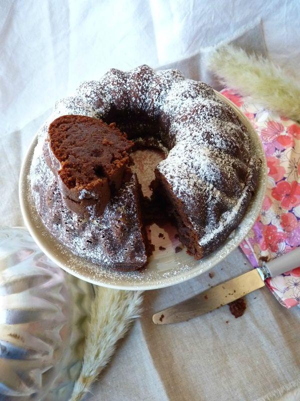 Journée mondiale du chocolat, le fondant marron/chocolat (on sait toutes que c'est une tuerie!)