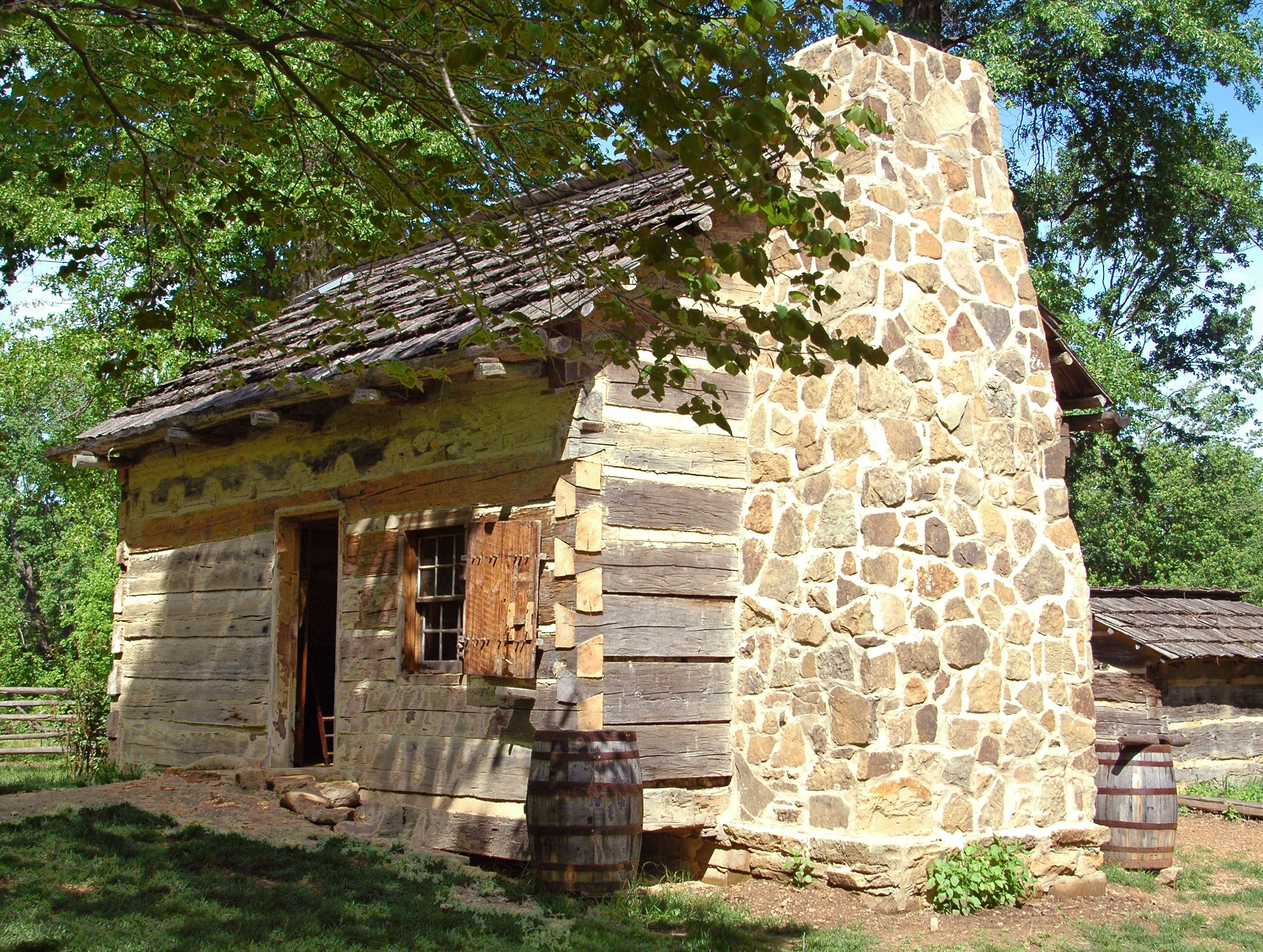 pigeon creek lincolns boyhood home in indiana from 1816 to 1830 rustic cabinslog